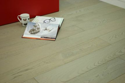 Natural Engineered Flooring Oak UK Grey Brushed UV Oiled 15/4mm By 220mm By 2200mm