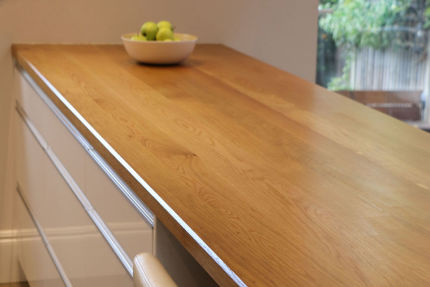 Full Stave Select Oak Worktop Elite 38mm By 590mm By 2000mm