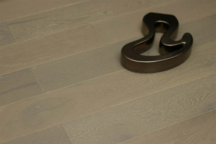 Rustic Engineered Flooring Oak White Grey Brushed UV Oiled 10/3mm By 150mm By 600-1900mm