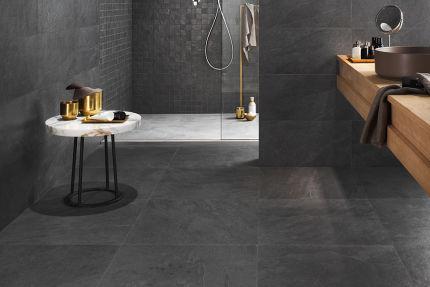 Porcelain Tile Minerva Black 900mm By 900mm