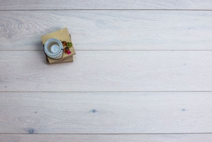 Select Engineered Flooring Oak London White Brushed UV Oiled 14/3mm By 190mm By 1900mm