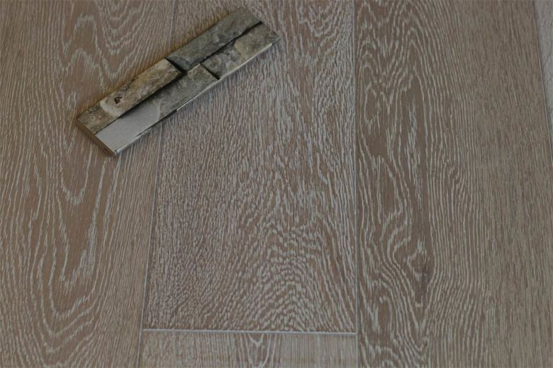 Prime Engineered Flooring Oak Sunny White Brushed Oiled 14/3mm By 140mm By 400-1500mm