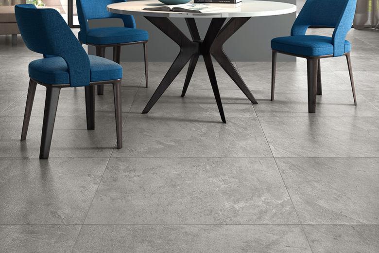 Porcelain Tile Minerva Silver 600mm By 600mm