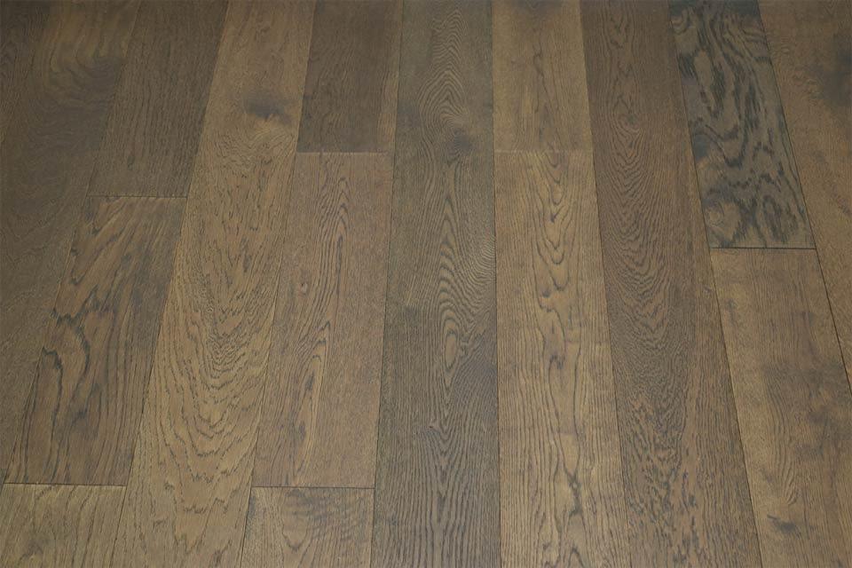 Natural Engineered Flooring Oak Coffee Brushed Uv Oiled 14