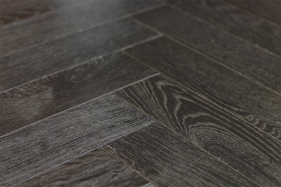 Famous Dark Herringbone Wood Floor Image Best Home Decorating