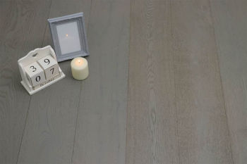 Select Engineered Flooring Oak London Grey Brushed UV Oiled 14/3mm By 190mm By 1900mm