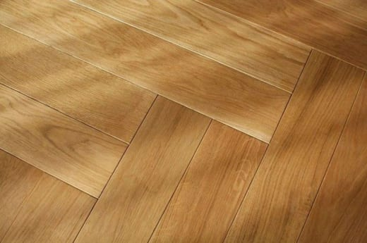 Prime Engineered Oak Herringbone UV Lacquered 9/3mm By 70mm By 500mm