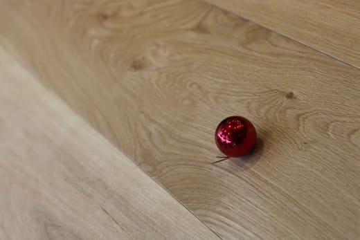 Natural Engineered Flooring Oak Click UV Oiled 14/3mm By 190mm By 1900mm