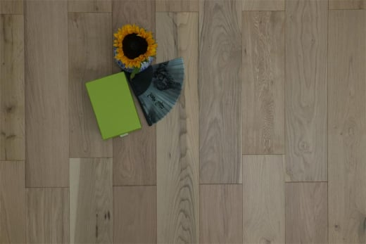 Natural Engineered Flooring Oak Non Visible UV Oiled 15/4mm By 190mm By 1900mm