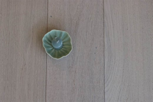 Prime Engineered Flooring Oak Polar White Brushed UV Lacquered 14/3mm By 178mm By 1000-2400mm