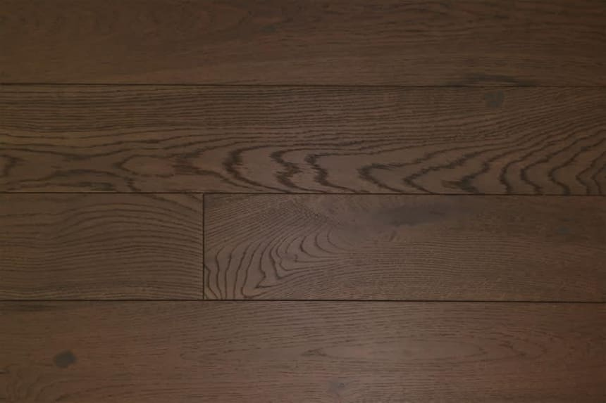 Rustic Engineered Flooring Oak Coffee Brushed UV Oiled 14/3mm By 150mm By 400-1500mm