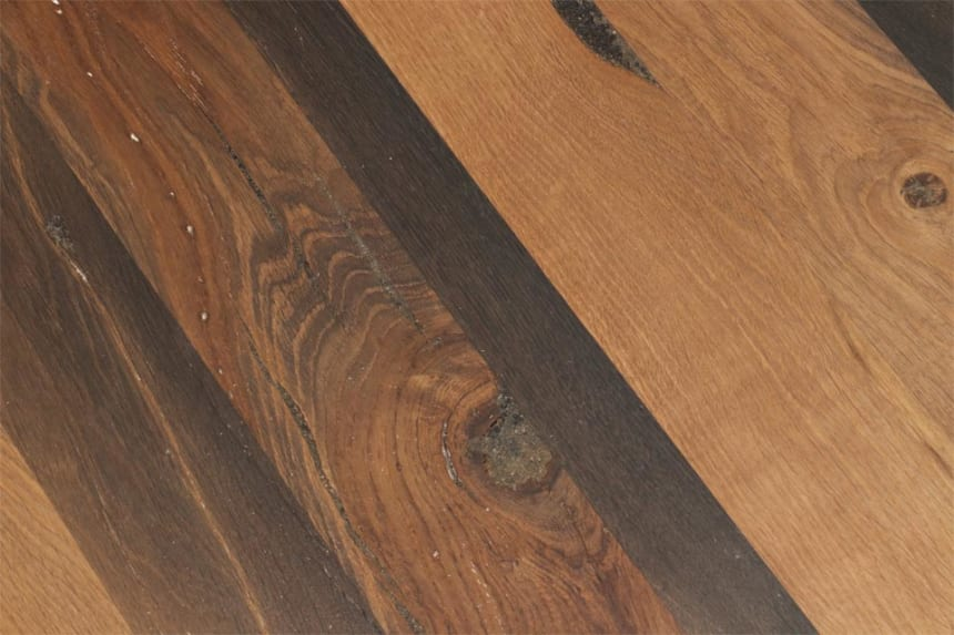 Full Stave Premium Bog Oak Worktop 25mm By 500mm By 2400mm