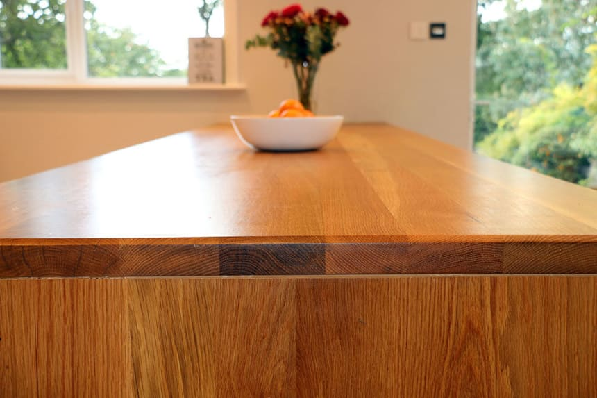 Full Stave Premium Oak Worktop 40mm By 620mm By 3950mm
