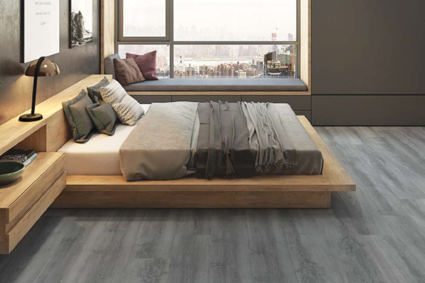 Jawa Dark Grey Laminate Flooring 8mm By 197mm By 1205mm