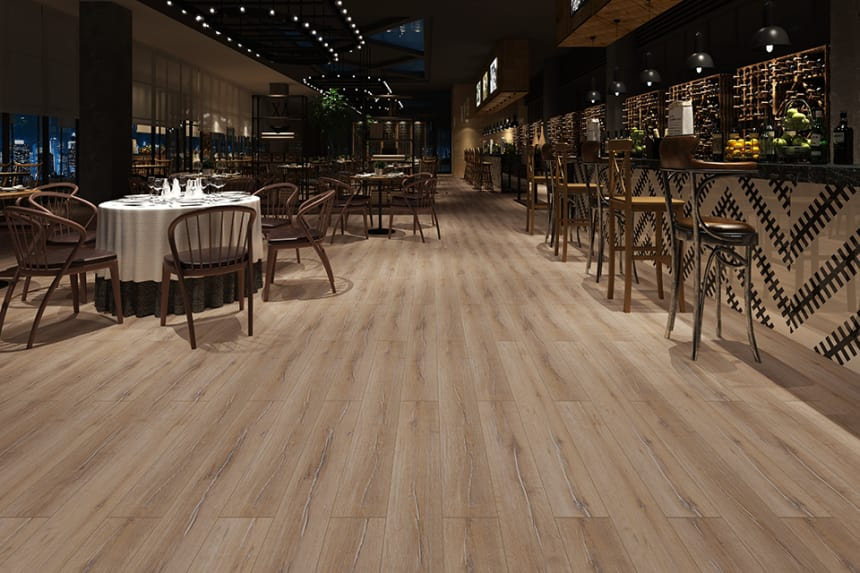 Livingston Oak Laminate Flooring 12mm By 193mm By 1380mm