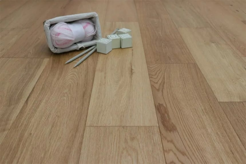 Natural Engineered Flooring Oak Brushed UV Lacquered 14/3mm By 150mm By 400-1500mm