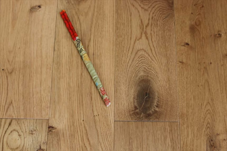 Natural Engineered Flooring Oak Click UV Lacquered 14/3mm By 190mm By 1860mm