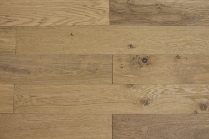 Natural Engineered Flooring Oak Click UV Oiled 14/3mm By 190mm By 1860mm