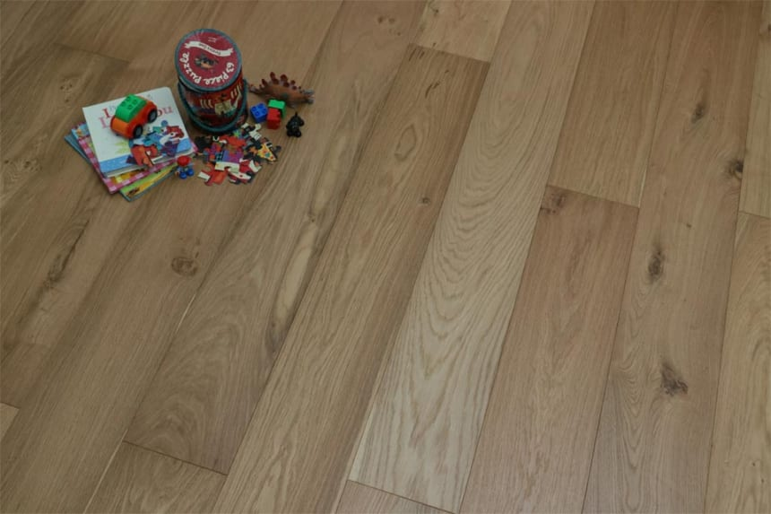 Natural Engineered Oak UV Oiled 15/4mm By 260mm By 2200mm
