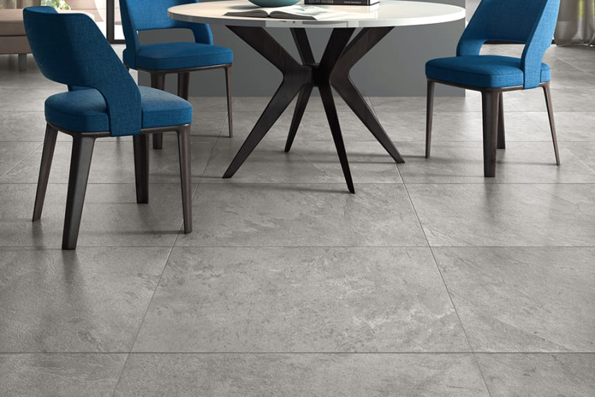 Porcelain Tile Minerva Silver 600mm By 600mm