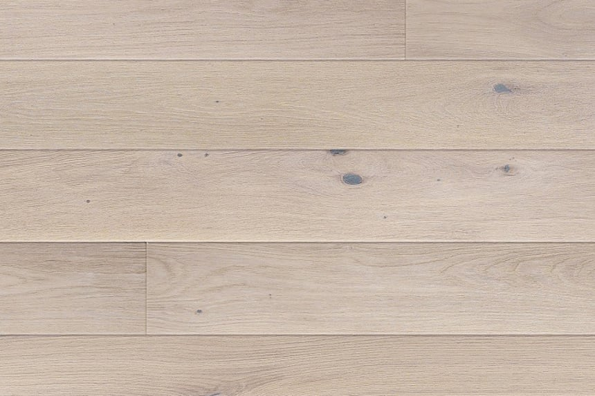 Select Engineered Flooring Oak Click Alaska White UV Oiled 14/3mm By 190mm By 1900mm