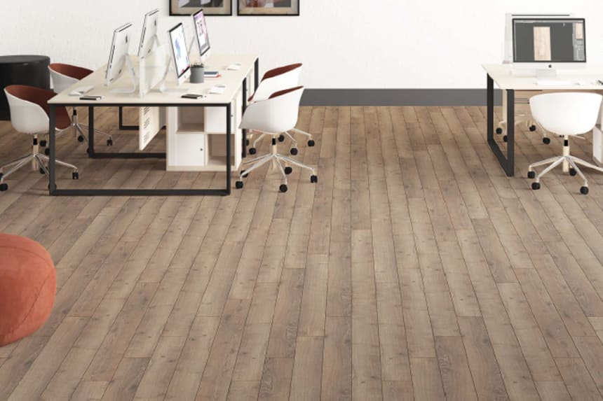Ulus Brown Coffee Laminate Flooring 12mm By 159mm By 1380mm