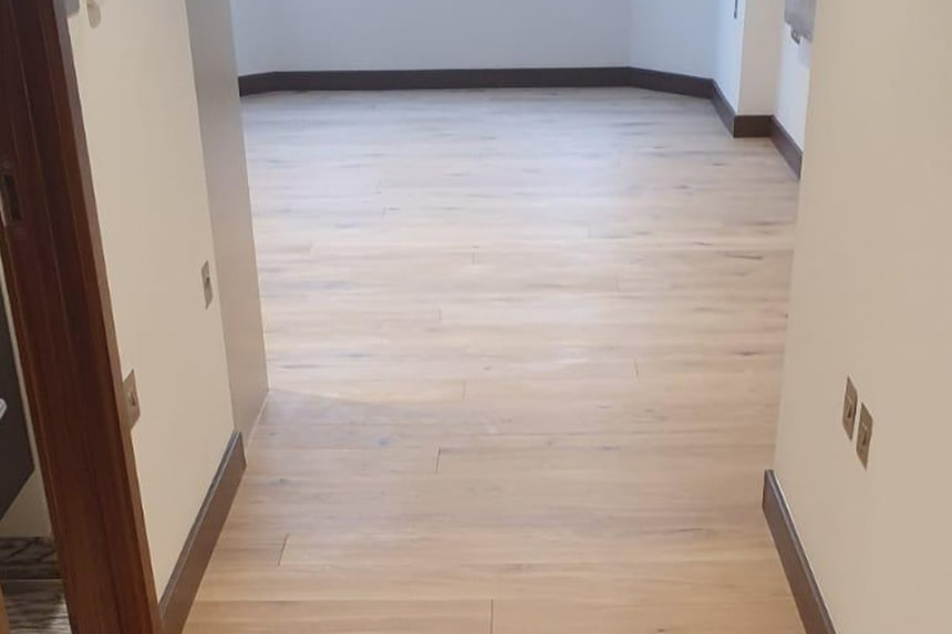 Natural Engineered Flooring Oak White Sand Brushed UV Oiled 15/3mm By 180mm By 1400-2400mm