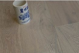 Natural Engineered Flooring Oak Brushed White UV Oiled 14/3mm By 190mm By 1900mm