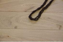 Natural Engineered Oak Flooring Brushed Unfinished 20/6mm By 180mm By 1900mm