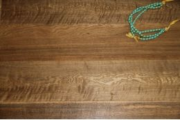 Natural Engineered Oak Flooring Click Smoked Brushed Oiled 14/3mm By 150mm By 1200mm