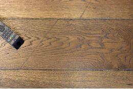 Select Engineered Flooring Oak Reclaim Brown UV Oiled 15/4mm By 190mm By 1900mm