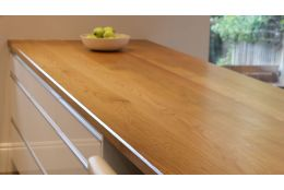 Full Stave Select Oak Worktop 38mm by 620mm by 3000mm