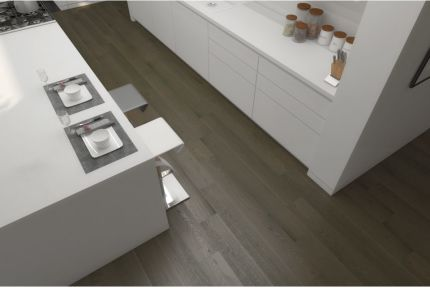 Natural Engineered Flooring Oak Click Light Grey Brushed UV Lacquered 14/3mm By 190mm By 1900mm