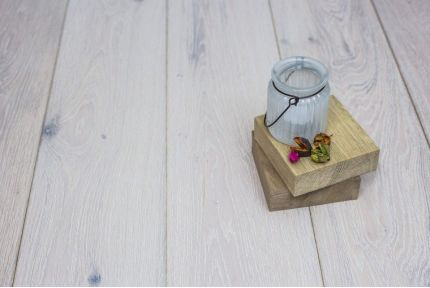 Natural Engineered Oak London White UV Oiled 14/3mm By 190mm By 400-1500mm