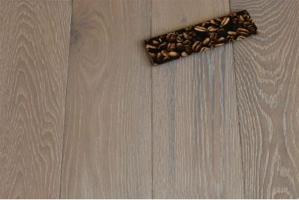 Natural Engineered Oak Sunny White Oiled 18/5mm By 125mm By 300-1500mm