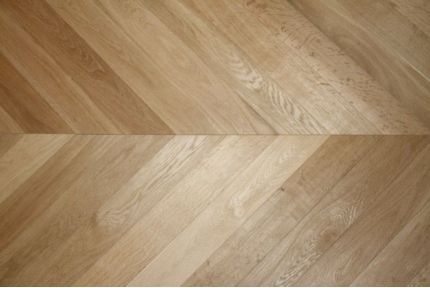 Prime Engineered Oak Chevron Brushed Hardwax Oiled 15/4mm By 90mm By 850mm