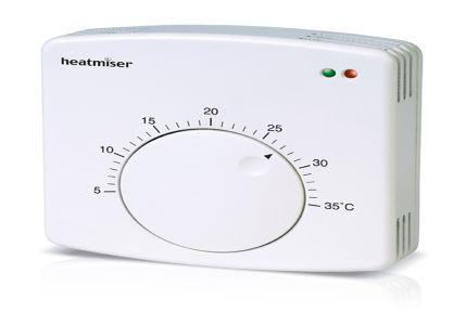 Heatmiser DS1 Water Central Heating Dial Thermostat