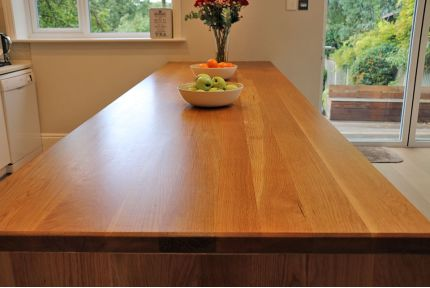 Full Stave Select Oak Worktop Elite 40mm By 950mm By 2450mm