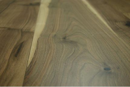 Natural Engineered Flooring Walnut Unfinished 15/4mm By 200mm By 2000-2200mm