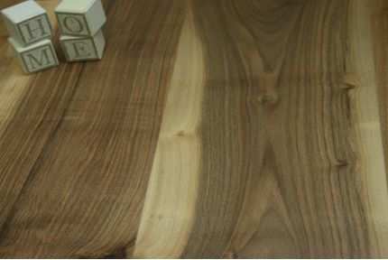 Natural Engineered Flooring Walnut UV Lacquered 15/4mm By 250mm By 2200mm