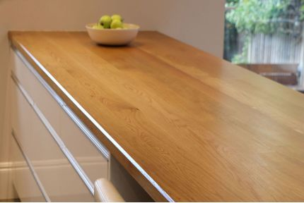 Full Stave Select Oak Worktop Elite 25mm By 620mm By 2500mm