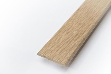 Solid Oak Flat Bar Unfinished 6mm By 44mm By 2350mm