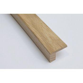 Solid Oak L Shape 21mm by 27mm by 2350mm