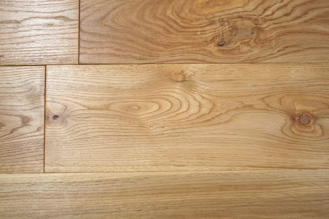 Natural Solid Oak Hardwax Oiled 20mm By 120mm By 300 1200mm