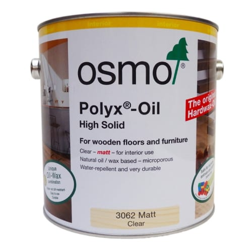 Osmo Matt Hard Wax Oil 2.5Ltr