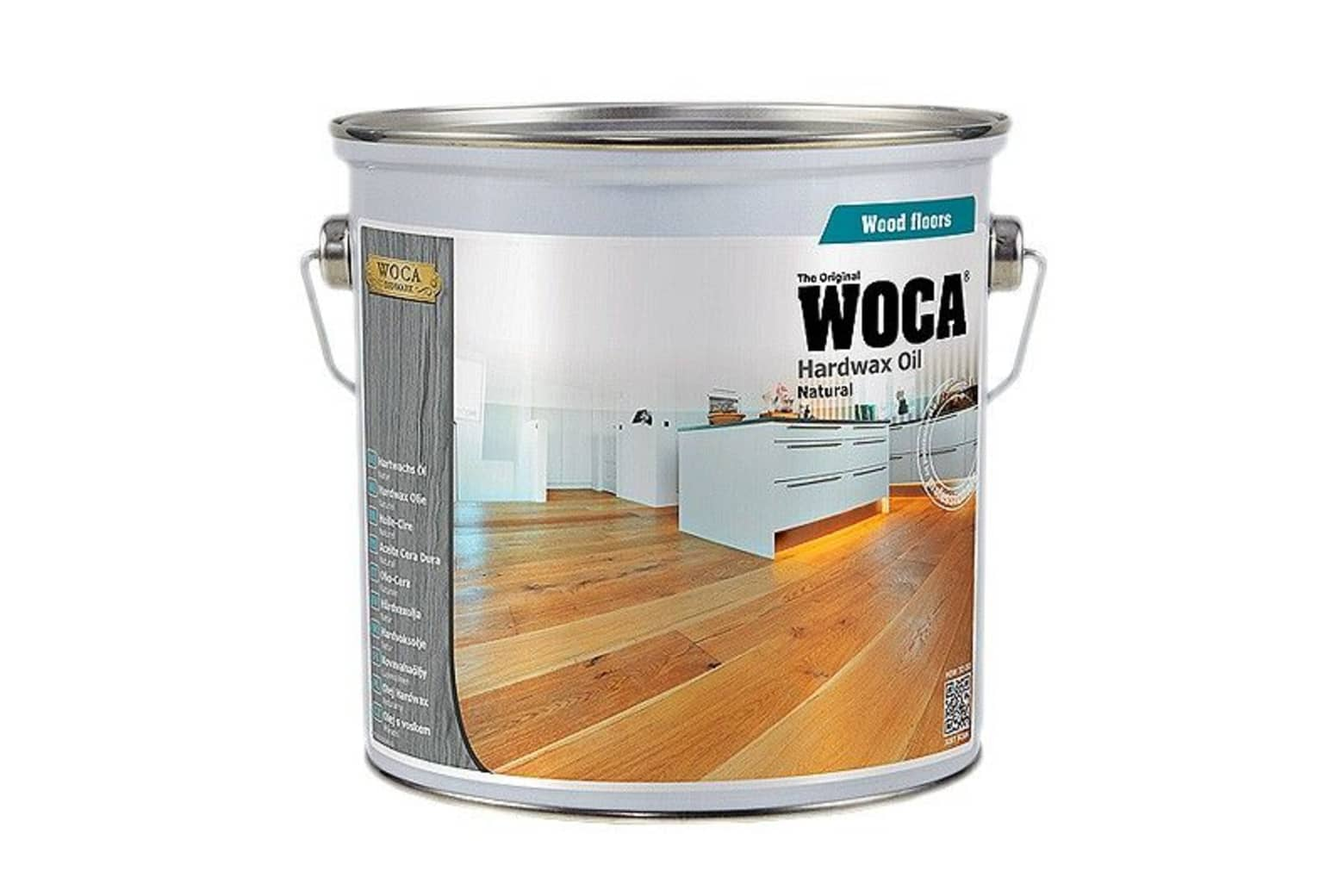 WOCA Expert Hardwax Oil Natural 2.5L