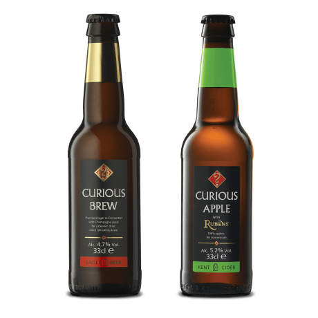 Curious Brew & Curious Apple mixed case