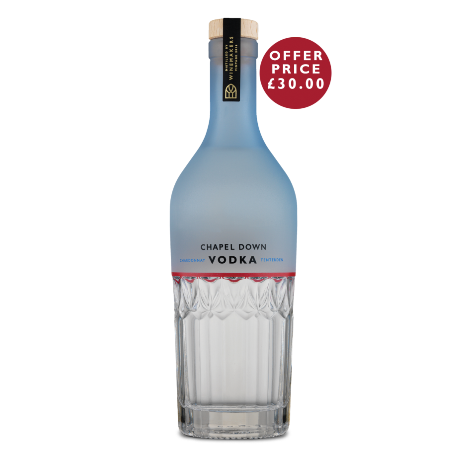 Chapel Down Chardonnay Vodka 70cl