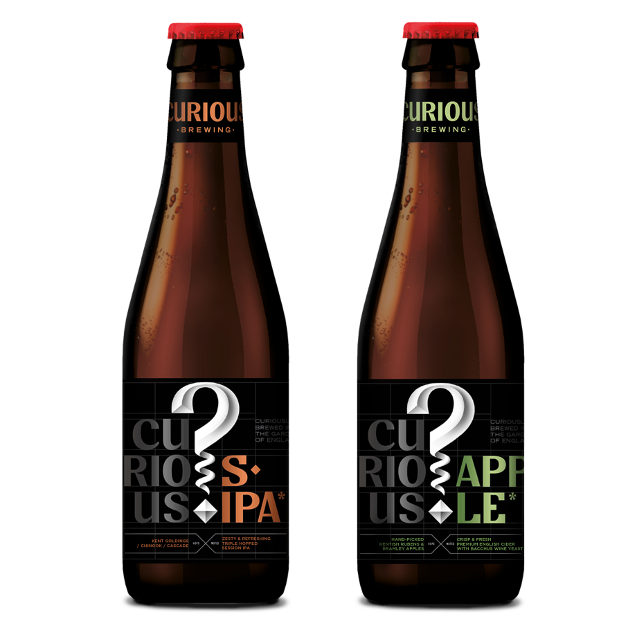 Curious Session IPA & Curious Apple 24btl Mixed Case