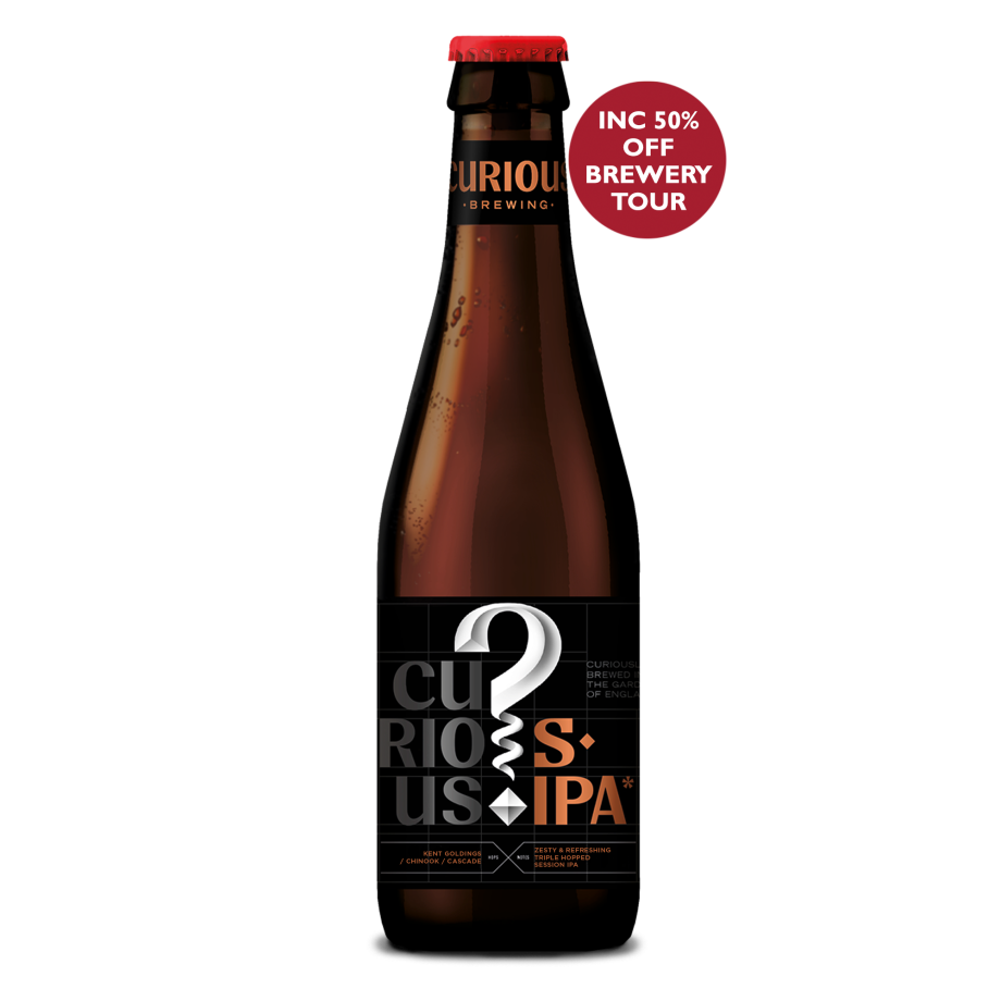 Curious Session IPA - Buy 20 Bottles Get 4 Free